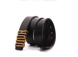 Cintos pretos largos para mulheres on-line-Hot novos homens e mulheres de couro preto cinto de negócios cor pura cinto 3.3 ampla 105-125 cinto de presente