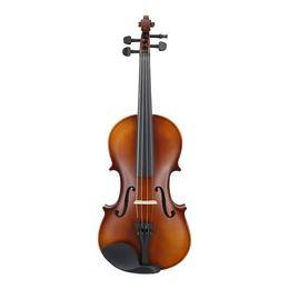 partes de violino usadas Desconto Matte Finish Madeira Sólida violino Artesanato Stripe Violino for Kids alunos iniciantes Caso Mute Bow Cordas