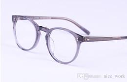 Canada Lunettes de marque-Meilleur prix de haute qualité Vintage lunettes optiques monture oliver peuples OV5183 o malley lunettes oculos de grau monture de lunettes cheap oliver peoples eyewear Offre