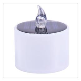L'énergie solaire électronique LED lampe veilleuse vacillante sans flamme bougies pour la décoration de fête intérieure d'urgence d'urgence 6pcs ? partir de fabricateur
