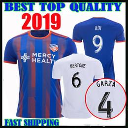 xx xxl Desconto 2019 FC Cincinnati FUTEBOL JERSEY Inaugural MLS 19 20 Saief ADI BERTONE GARZA WASTON A. CRUZ camisas de futebol top tailândia qualidade TAMANHO S-XX