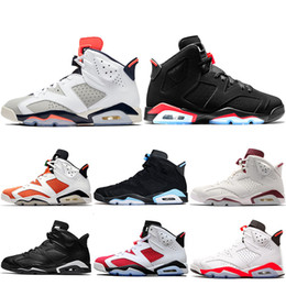 best loved 6db43 7c32e retro air trainer Rabatt Nike Air Jordan Retro Turnschuh 6 6s Männer  Basketball Schuhe Tinker UNC