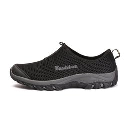 Rio iluminación online-la luz azul de la aguamarina zapatos ultra-ligero de secado rápido de la playa del río que camina del agua de Verano Hombres transpirable zapatillas de deporte al aire libre zapatos para caminar Niños