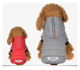 Dog Winter Coat Clothes Warm Pet Dog Jacket Puppy Chihuahua Clothing Hoodies For Small Medium Dogs Yorkshire Puppy Thicken Outfit MMA1108