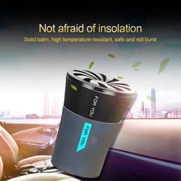 2019 porta-copos dupla Titular de copo do carro do refrogerador de ar do carro que denomina o perfume para remover o uso Home duplo do odor porta-copos dupla barato