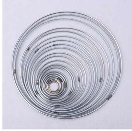 kristall-zauberstab großhandel Rabatt 22 teile / satz Metall Hoop Dreamcatcher Ring Wandbehang Makramee Handwerk Home DIY Decor