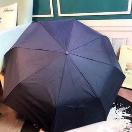 Marchio Umbrella Protezione solare B reticoli LED Light Bumbershoot Donne e uomini Regalo VIP Moda Antiusura Outdoor portatile 50fp F1 da