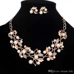 Vintage sparkly Gelin Takı Seti kaplama kolye elmas küpe gelin nedime kadınlar için Düğün takı setleri Gelin Aksesuarları nereden