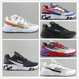 bc589b91b13de 2019 Designer Epic up come React Element 87 Undercover Mens Running Shoes  Black White Gold Blue Men Women Casual Sports Sneakers