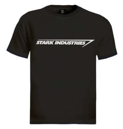 Argentina Stark Industries Camiseta Ironman Marvel Movie Comics cómics de ciencia ficción Casual camiseta masculina Envío gratis Camiseta manga corta Suministro