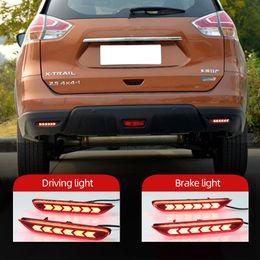 X-Trail 2004-2013 and Toyota Corolla 2007-2010 Avanza Veloz 2019+ July King 6.8CM 21 LED Brake Lights Night Running Lights for Nissan Qashqai 2007-2013