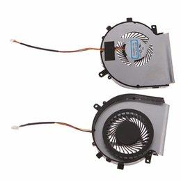 ventilateurs de refroidissement pour ordinateur portable de remplacement Promotion Remplacement du ventilateur de refroidissement du processeur pour ordinateur portable pour MSI GE62 GE72 GL72 PE60 PE70 Accessoires pour ordinateur portable