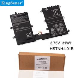 Computer portatile tablet hp online-KingSener CD02 HSTNN-L01B Batteria del computer portatile per HP Pro Tablet 610 G1 Omni10 HSTNN-Q12C 740479-001 733057-422 3.75V 31WH