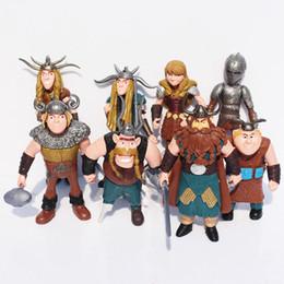 ragazze di moda giocattoli Sconti Cartoon Train Dragon Action Figure 8Pcs Moda bambini PVC Action Figures Ragazzi Giocattoli classici Carino regalo per bambini Ragazze TTA378
