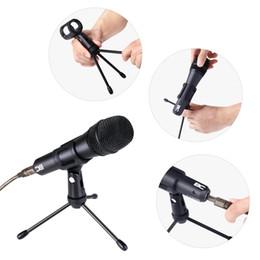 2019 karaoke del microfono del mp3 Disponibile in Germania! AC Maestro USB Microfono dinamico per la registrazione PC e Podcasting chat online Compatibile con Win / Mac / Laptop con treppiede