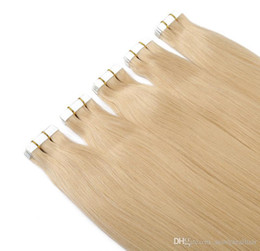 16 inç 18 inç 20 inç 22 inç 24 inç Hint Saç Pu Cilt Atkı Remy Bant İnsan Saç Uzantıları 80 adet 200gr lot nereden 22 hint saç derisi atkısı tedarikçiler