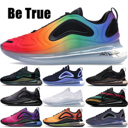 spring green lawn Coupons - 2019 Be True 720 Running Shoes Northern Lights throwback future Hot lava neon collection Sunrise 72C Womens Mens Designer Sneakers trainers