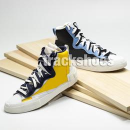 Sacai Combine Dunk Blazer Hombres Corriendo Mujeres Diseñador Mujeres Blanco Negro Rojo Zapatillas deportivas al aire libre Zapatillas deportivas desde fabricantes