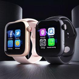 apple new smartwatch Скидка 2019 Новый Z6 SmartWatch для Apple iPhone Smart Watch Bluetooth 3.0 Часы с камерой поддерживает SIM-карту TF для смартфона Android