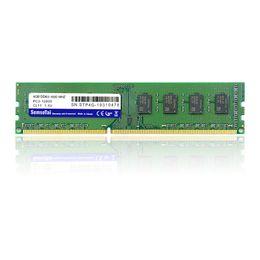 DDR3 4G 1600 MHZ RAM ddr3 Bellek Yongası 4G Masaüstü PC3-12800 için uzun dimm nereden pc3 koç tedarikçiler