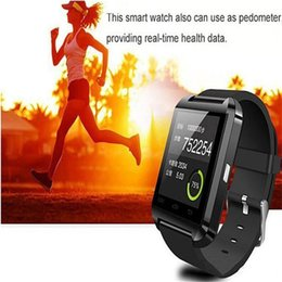 altímetro de relógio inteligente Desconto Assista inteligente u8 altímetro bluetooth anti-lost 1.5 polegada relógio de pulso u watch para smartphones iphone android samsung htc sony