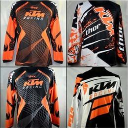 Brand-KTM Motocross formaları T Shirt KAPALI YOL motosiklet Bisiklet Bisiklet Formaları Nefes Kazak MTB Downhill jersey Hızlı Kuru nereden