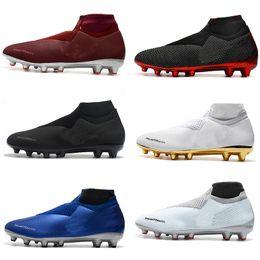 Precios de los zapatos de futbol online-Nuevos zapatos de fútbol para hombre Phantom VSN Elite DF SG Zapatos de fútbol Botines Zapatos de fútbol de alta calidad Botas de fútbol Precio bajo por mayor Tamaño: 39-46