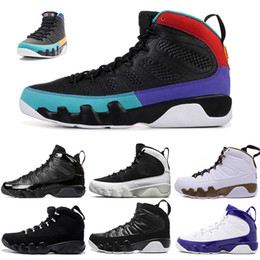 848f1429292 New Designer Mens 9 9s Dream It Do It Bred basketball shoes Anthracite  Black White OG space jam Sports Trainers Sneakers Size 7-13