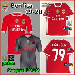 19 20 Benfica JOAO FELIX Niños adultos de futebol GRIMALDO RUBEN DIAS camiseta PIZZI RAFA JONES camiseta de fútbol 19 20 camiseta de fútbol equipo desde fabricantes