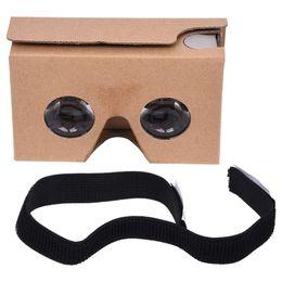 google cardboard Скидка Для Google Cardboard V2 3D-очки VR Valencia Fit 6-дюймовый смартфон + оголовье