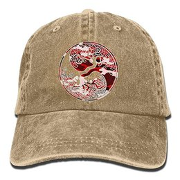 Cappelli all'ingrosso viking online-2019 Nuovo berretto da baseball all'ingrosso Uomo Berretto da baseball in twill lavato cotone Odin Thor Viking Norse Tree of Life Hat
