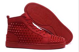 Canada Christian Louboutin CL 112 Hommes et femmes à semelles rouges, chaussures de sport, chaussures à talons hauts à semelles rouges, chaussures à semelles rouges Offre