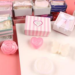 mini hochzeit geschenk seife Rabatt Minihochzeitsbevorzugungs-Babypartyseife mit Geschenkpaket-Babyduftseife für Gastbevorzugung der Partei