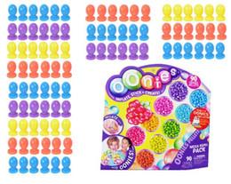 1 set / 90 unids Oonies Accesorios Bola Magia DIY Adhesivo Navidad Año Nuevo Juguetes Educativos Para Niños Regalo Creativo Burbuja desde fabricantes