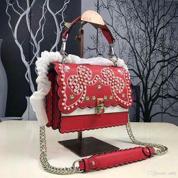 5034b08ad8f4 AAAAA new pearl decorative handbag