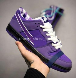 wholesale dealer 16c14 f4ad2 sb dunks shoes 2019 - Designer Concepts x SB Dunk Low Skateboard Shoes  Purple Lobster Diamond