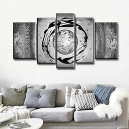 Canada NOUVEAU 100% peint à la main peinture à l'huile abstraite de danse moderne peint à la main sur le mur de toile de toile pour la décoration de la maison 5 pcs / set Offre