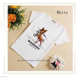 Muchachas lindas medio camisetas online-Niños 2019 Verano de manga corta T Camiseta linda Ropa para niños Chicos de algodón puro Chaqueta coreana Half Time Leisure