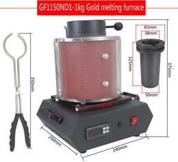 Rame 1kg online-Gioielli CE forno di fusione elettrico 1KG / 2KG / 3KG, alluminio, rame, oro, piombo, argento, induzione forno di fusione ovan