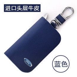 2019 marcas carro ford Genunie Leather Car Key Case Capa Carteira Titular Chave para Ford Brand New Car Chaveiro Capa marcas carro ford barato