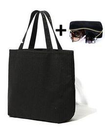 Klassische Einkaufstasche + Kosmetiktasche Goldene Brief Stickerei Make-up Taschen Frauen Geldbörsen Schwarz Umhängetaschen Set von Fabrikanten