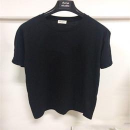 Canada 2019 New Fashion Designer T-shirt Hommes Streetwear Top Tees Planche À Roulette 4Size Lettre S-XL Lettre Imprimer T-shirt 5color Coton Mélange T-shirt Hommes Offre