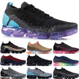 2019 цвет радуги для обуви Горячие Продажи Fly 1.0 2.0 Радуга Быть Правдой Кроссовки Мужчины Женщины Тигр Черный Многоцветный Gunsmoke Blue Orbit Дизайнерская Обувь скидка цвет радуги для обуви
