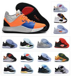 e66be8cb1afc 2019 Nuovo Paul George PG 3 3S PALMDALE III P.GEORGE Scarpe da basket  economici PG3 Starry Blu Arancione Rosso Nero Sneakers sportive Taglia 40-46