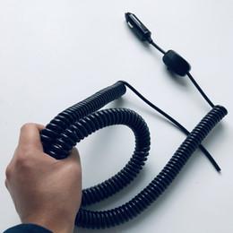 2019 cable de extensión de alimentación Útil 12v24v 180W Cable retráctil Fuente de alimentación automática Cable de resorte Cable de extensión para ventilador de automóvil / barra de luz led / Luz de trabajo / Proyector cable de extensión de alimentación baratos