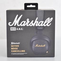 Canada Marshall Mid ANC Casque d'écoute sans fil Bluetooth à atténuation active du bruit, noir Offre