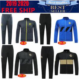 2019 nuova INTER CALCIO serie di abiti di formazione 19 20 ICARDI LAUTARO Nainggolan Perisic chandal CALCIO bambini corredi della tuta maillot de foot da