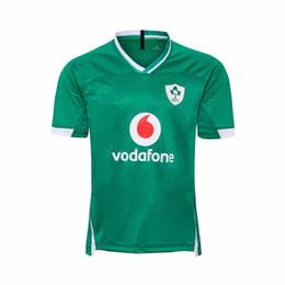 camiseta de fútbol de australia Rebajas camisetas de rugby Liga Internacional camiseta de rugby de Irlanda 2020 Jersey de la camisa del equipo nacional IRLANDA IRFU s-5XL