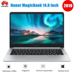 2gb ram 8gb bluetooth hdmi Sconti 2019 Huawei Honor MagicBook Notebook 14 pollici Windows 10 AMD Ryzen 5 3500U 8 GB 256 GB / 512 GB SSD Radeon Vega 8 Fingerprint Laptop