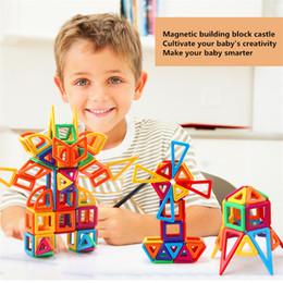 2019 micro bloques de construcción Juego de 36 piezas de bloques magnéticos micro diseñador magnético edificio modelo 3D juguete educativo del bloque del imán para los niños micro bloques de construcción baratos